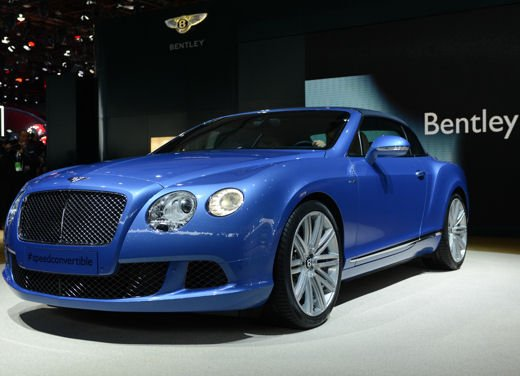 Bentley Continental GT Speed Convertible - Foto 6 di 8