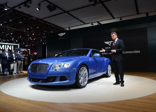 Bentley Continental GT Speed Convertible - Foto 7 di 8