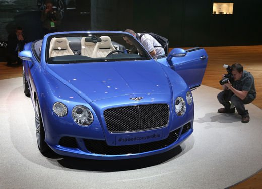 Bentley Continental GT Speed Convertible - Foto 2 di 8