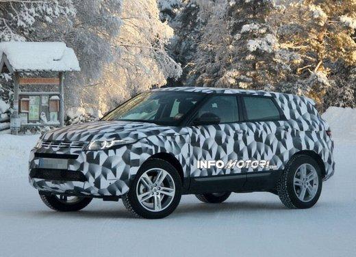 Foto spia della nuova Land Rover Freelander