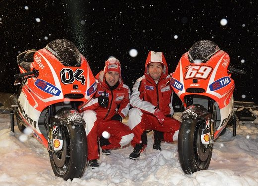Ducati desmosedici GP13 presentata a Wrooom