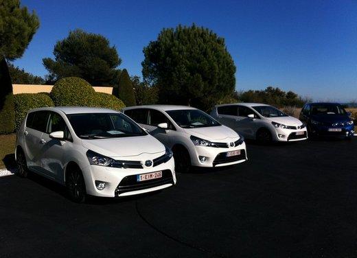 Toyota Verso, provato sulle strade delle Costa Azzurra il monovolume compatto a 7 posti