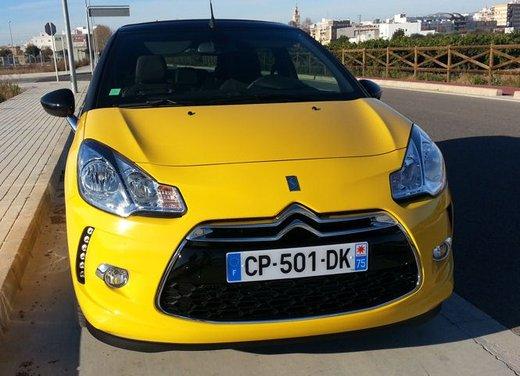 Citroen DS3 Cabrio provata su strada a Valencia - Foto 5 di 27