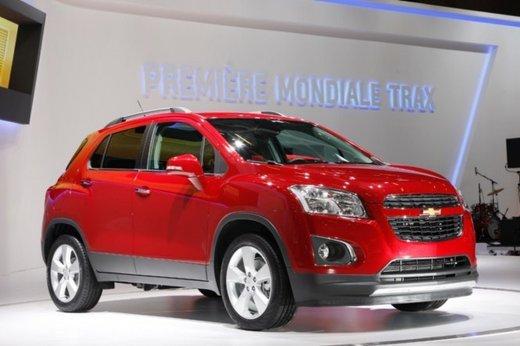 Chevrolet Trax debutta fra i SUV compatti in primavera