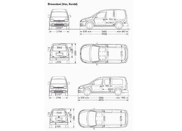 Nuovo Volkswagen Caddy - Foto 11 di 11