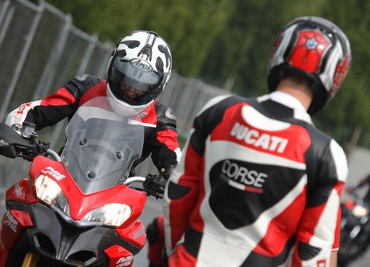 Ducati Riding Experience 2013 in sella a Ducati 1199 Panigale, Multistrada, Hypermotard e Monster
