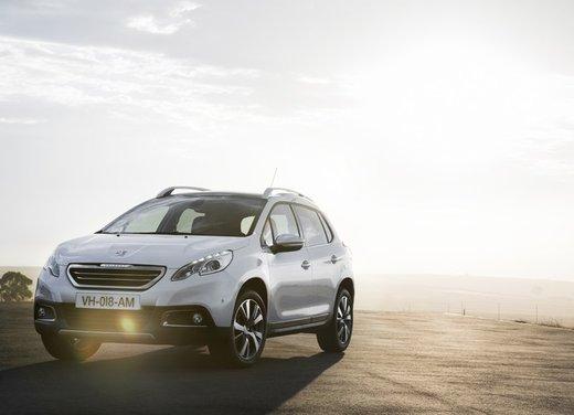 Peugeot 2008, listino prezzi da 15.100 euro