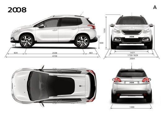 Peugeot 2008, listino prezzi da 15.100 euro - Foto 19 di 44