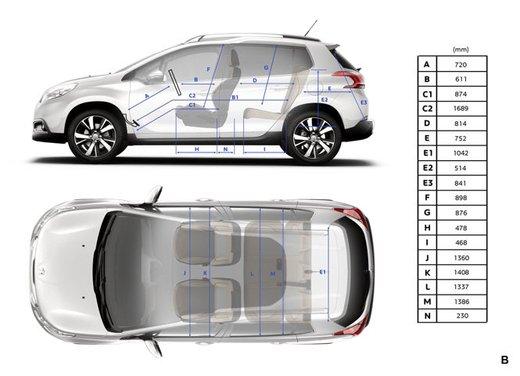 Peugeot 2008, listino prezzi da 15.100 euro - Foto 37 di 44