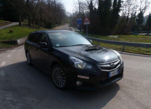Subaru Legacy 2.0D-S Dynamic prova su strada della wagon integrale 4x4