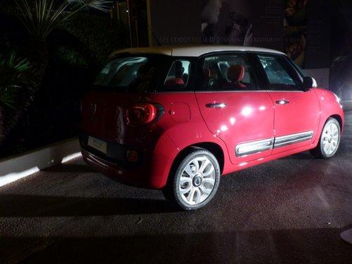 Fiat 500L provata su strada a Cannes con due nuovi motori da 105 CV - Foto 4 di 22
