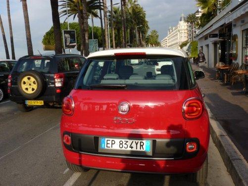 Fiat 500L provata su strada a Cannes con due nuovi motori da 105 CV - Foto 7 di 22