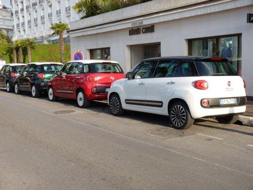 Fiat 500L provata su strada a Cannes con due nuovi motori da 105 CV - Foto 8 di 22