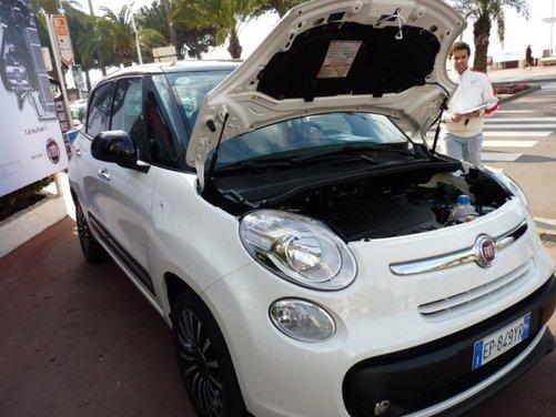 Fiat 500L provata su strada a Cannes con due nuovi motori da 105 CV - Foto 17 di 22