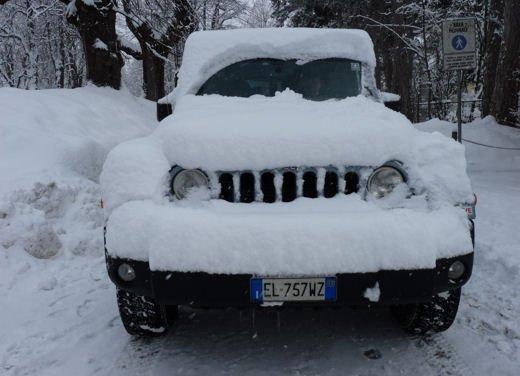 Jeep Wrangler Unlimited Arctic provato su strada e su fango