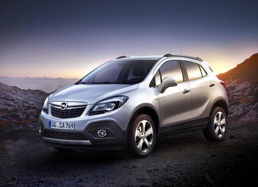 Opel Mokka, prestazioni e consumi della gamma a benzina