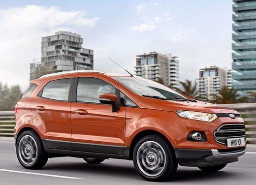 Ford EcoSport: prezzi ed allestimenti