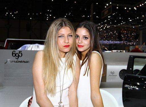 Le ragazze più belle del Salone di Ginevra 2013 - Foto 9 di 15