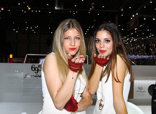 Le ragazze più belle del Salone di Ginevra 2013 - Foto 10 di 15