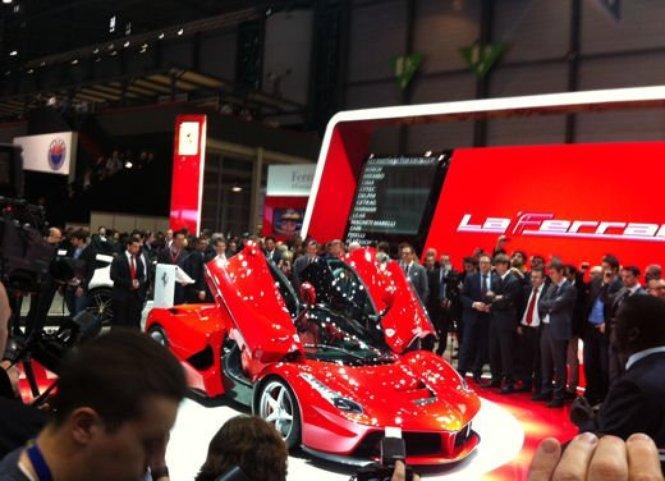 Le più potenti e veloci auto sportive presenti al Salone di Ginevra 2013