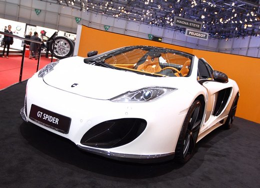 McLaren MP4-12C GT Spider tuning by Gemballa - Foto 2 di 13