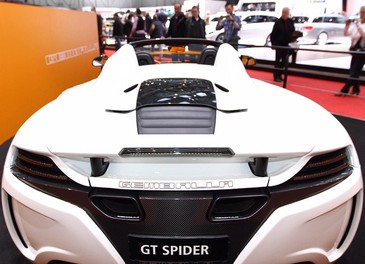 McLaren MP4-12C GT Spider tuning by Gemballa - Foto 10 di 13