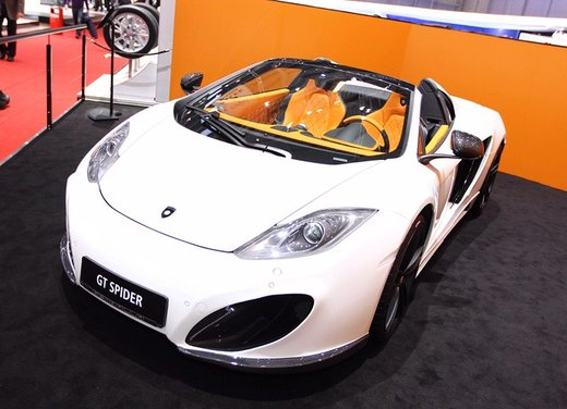 McLaren MP4-12C GT Spider tuning by Gemballa