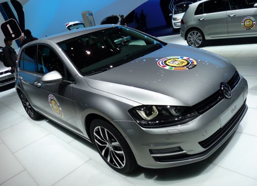 Volkswagen Golf un anno di successi in attesa delle novità 2014 - Foto 1 di 4