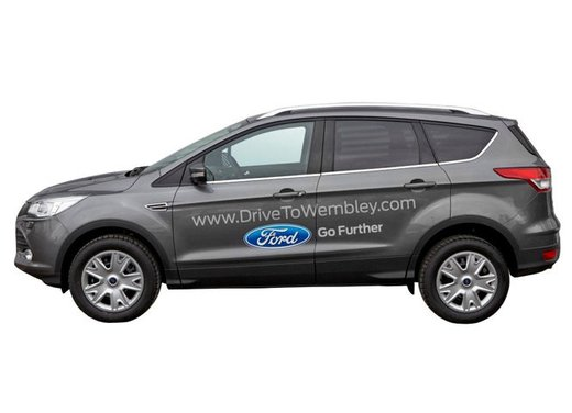 "Ford Kuga a Wembley per la UEFA Champions League, con il concorso ""Kuga Drive to Wembley"""