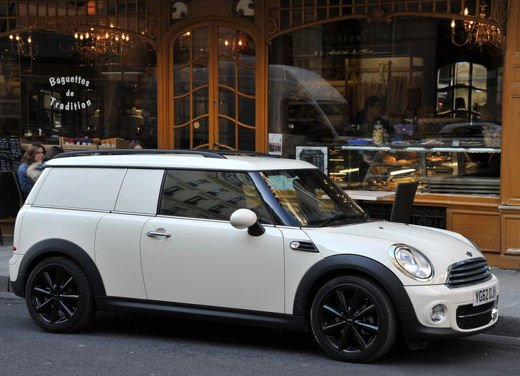 MINI Clubvan, veicolo commerciale su base MINI Clubman