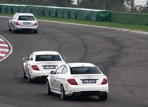 Mercedes AMG Driving Academy con le sportive Classe A 45 AMG,  E 63 AMG e Mercedes CLS 63 AMG - Foto 5 di 14