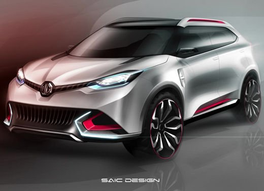 MG CS Concept - Foto 4 di 5