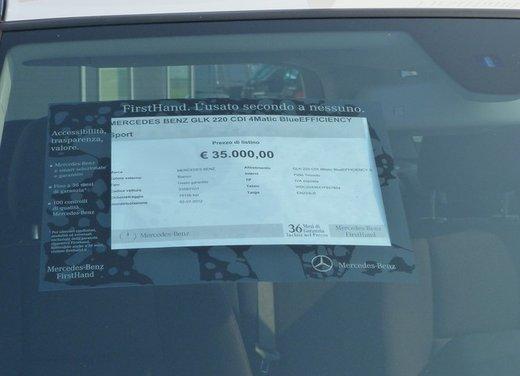 Mercedes GLK 220 CDI FirstHand, provata una Mercedes usata garantita tre anni - Foto 20 di 35
