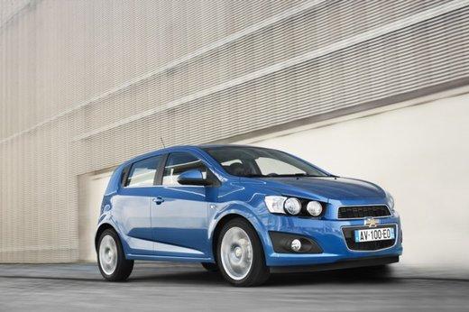 Chevrolet Aveo in promozione al prezzo di 8.800 euro fino a fine maggio