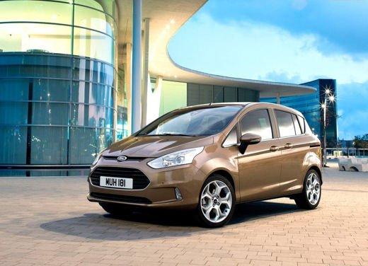 Ford B-MAX, la monovolume di segmento C più venduta in Europa