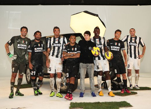 Jeep Wrangler sostiene la Juventus Campione d'Italia 2012-2013