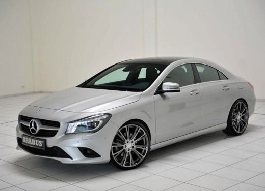 Mercedes CLA tuning by Brabus