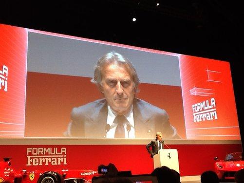 Montezemolo: Meno Ferrari, più utili e fatturato e 250 occupati nel 2013