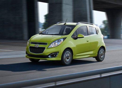 Chevrolet Spark, prestazioni e consumi della versione a Gpl