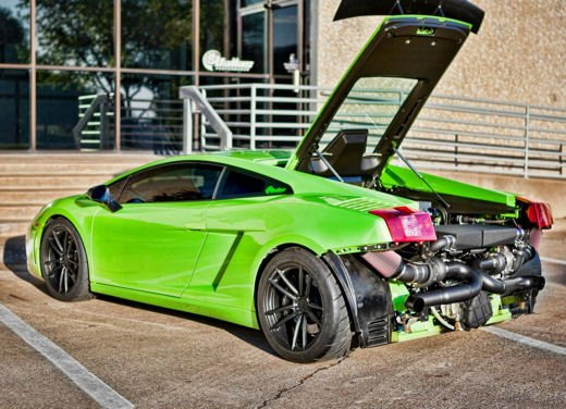 Lamborghini Gallardo Verde Ithaca da 1050 CV by Dallas Performance