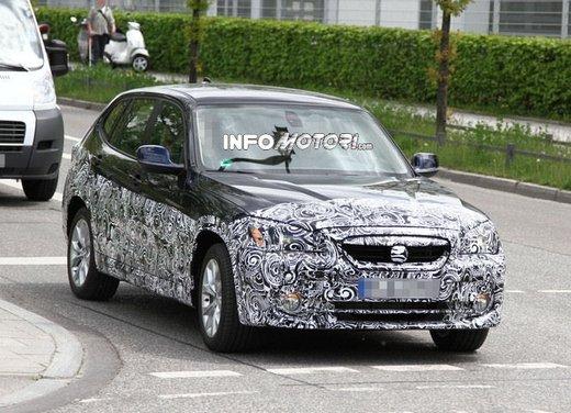 Zinoro X1, foto spia del prototipo su base BMW X1