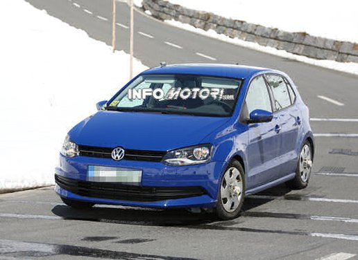 Volkswagen Polo MY 2014 prime foto spia del restyling