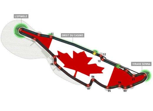 Orari TV Formula 1 GP di Montreal in Canada su SKY e Rai
