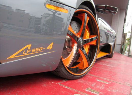 Lamborghini Murcielago Roadster LP650-4 Grigio Telesto by Office-K - Foto 7 di 24