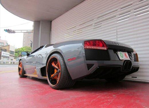 Lamborghini Murcielago Roadster LP650-4 Grigio Telesto by Office-K - Foto 12 di 24