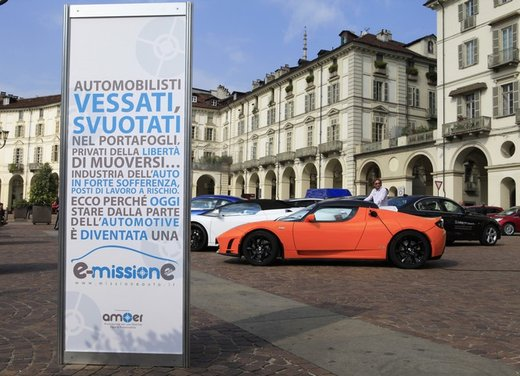 Missione Mobilità Roma 2013: no allo spegnimento dell'auto, motore dell'economia