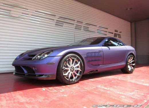 Mercedes SLR McLaren tuning by Office-K