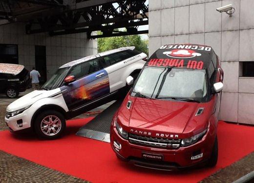 """Land Rover festeggia """"10.000 Volte"""" Range Rover Evoque"""