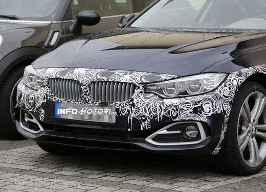 BMW Serie 4 Cabrio nuove immagini spia - Foto 22 di 26