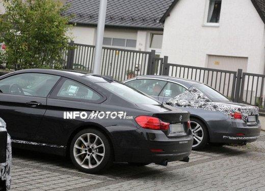 BMW Serie 4 Cabrio nuove immagini spia - Foto 23 di 26